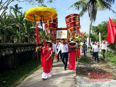Nha tho ho Vo (Yen Thanh) don nhan bang di tich lich su cap tinh - Anh 1