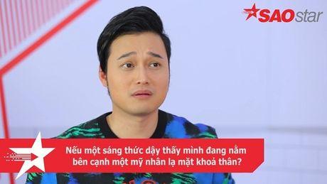 Clip: Quang Vinh se phan ung ra sao neu bi fan tay chay vi khong hai long nguoi yeu? - Anh 5