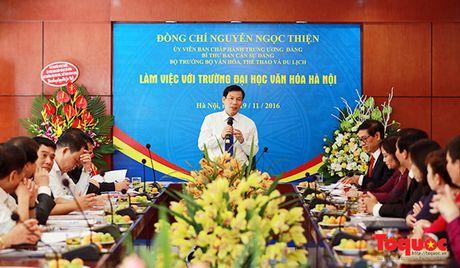 Bo truong Bo VHTTDL Nguyen Ngoc Thien gui thu chuc mung nhan Ngay Nha giao Viet Nam - Anh 1