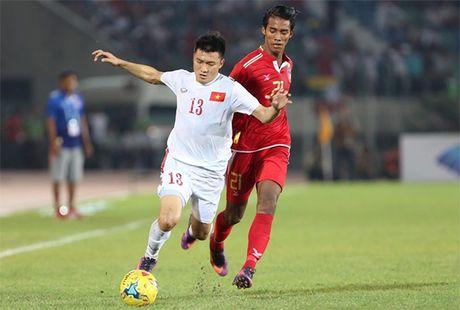 Cong Vinh ghi ban thang thu 50, thay tro Huu Thang nhoc nhan 'vuot ai' - Anh 1