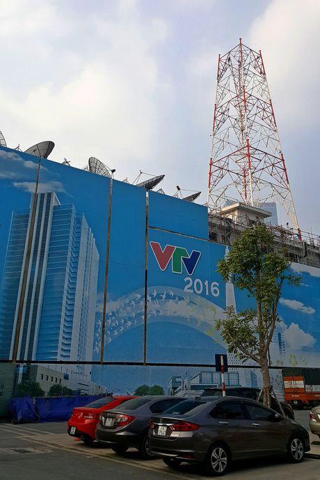 Cot phat song truyen hinh VTV dang duoc thao do - Anh 4