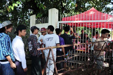 Myanmar vs Viet Nam: Co dong vien chu nha tu tap tu som - Anh 4