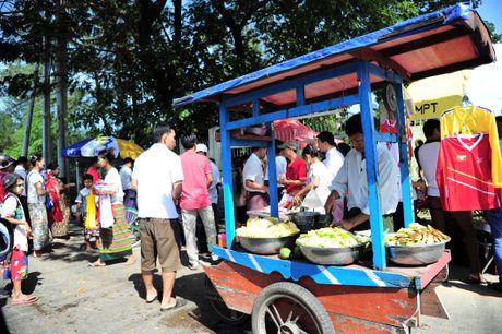 Myanmar vs Viet Nam: Co dong vien chu nha tu tap tu som - Anh 8