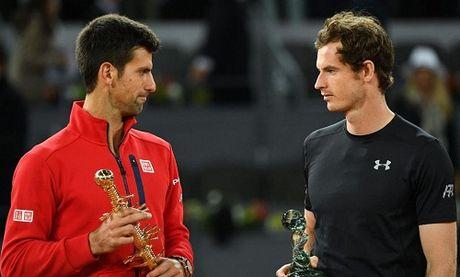 Murray cham tran Djokovic trong cuoc chien ngoi dau - Anh 1