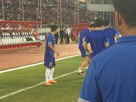TRUC TIEP Myanmar 0-0 Viet Nam: Cong Vinh va Van Quyet da chinh, Cong Phuong va Thanh Luong du bi (Hiep 1) - Anh 3