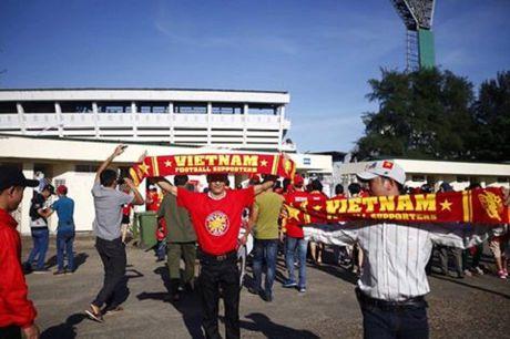 TRUC TIEP Myanmar 0-0 Viet Nam: Cong Vinh va Van Quyet da chinh, Cong Phuong va Thanh Luong du bi (Hiep 1) - Anh 9