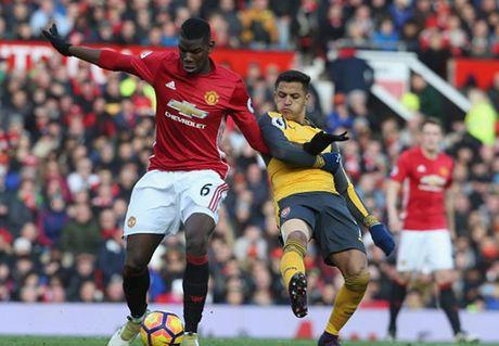 Cham diem MU 1-1 Arsenal: 'Nguoi hung' Giroud che mo 'bom tan' Pogba - Anh 10