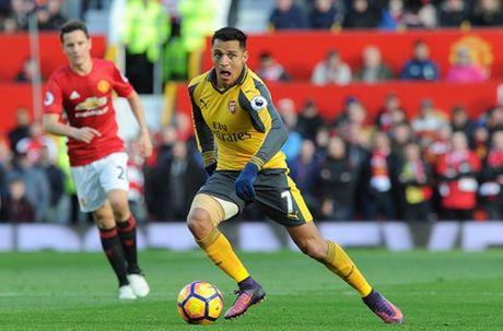Cham diem MU 1-1 Arsenal: 'Nguoi hung' Giroud che mo 'bom tan' Pogba - Anh 24