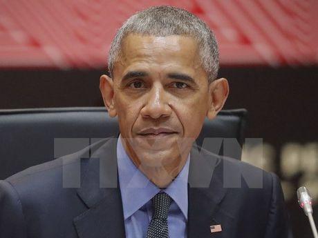 Tong thong My Obama len tieng ve van de Ukraine va Syria - Anh 1