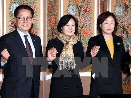 Han Quoc: Phe doi lap tim cach day nhanh viec luan toi tong thong - Anh 1