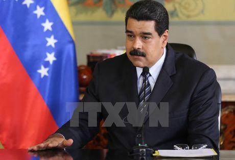 Tong thong Venezuela hoi thuc phe doi lap thuc thi thoa thuan - Anh 1