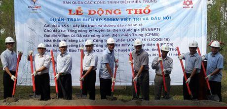 Xuc tien xay dung tram bien ap 500 kV Viet Tri - Anh 1
