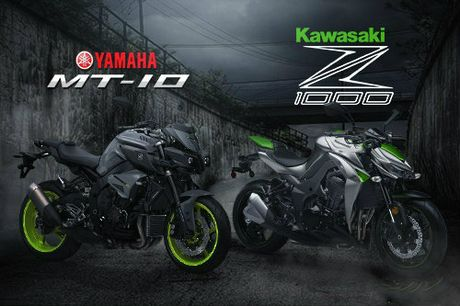 So thang thua giua Yamaha MT-10 va Kawasaki Z1000 - Anh 1