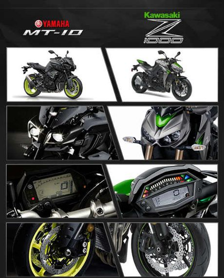 So thang thua giua Yamaha MT-10 va Kawasaki Z1000 - Anh 8
