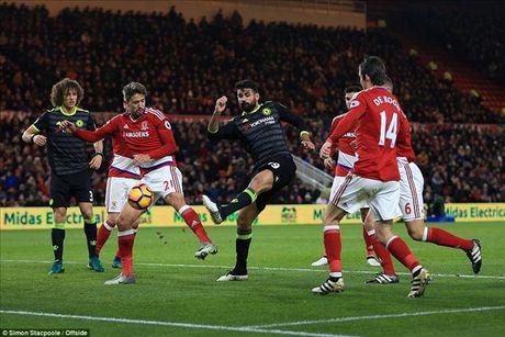 Danh bai Middlesbrough nho Costa, Chelsea lan dau len dinh cung Conte - Anh 4