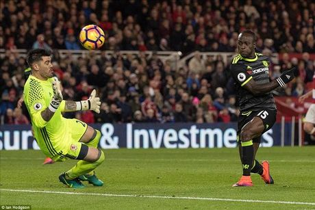 Danh bai Middlesbrough nho Costa, Chelsea lan dau len dinh cung Conte - Anh 5