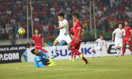 Xuan Truong kien tao, DT Viet Nam danh bai Myanmar tai AFF Cup 2016 - Anh 1