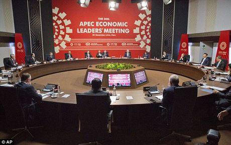 Tong thong Putin bat tay ho hung voi TT Obama tai APEC - Anh 7