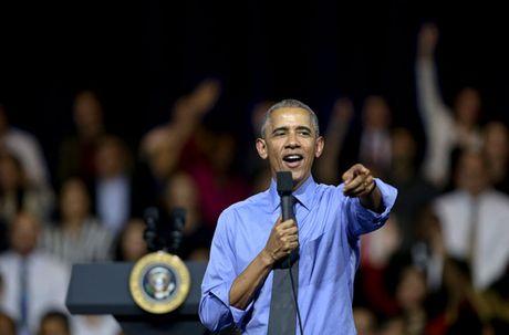 Tong thong Putin bat tay ho hung voi TT Obama tai APEC - Anh 9