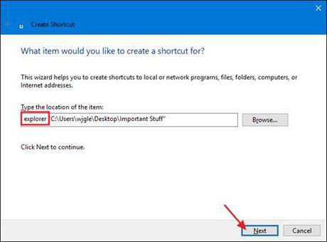 Ghim thu muc vao thanh Taskbar tren Windows 10 - Anh 2