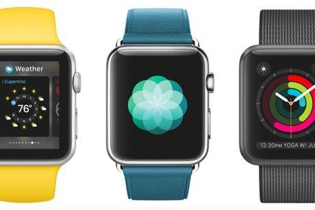 watchOS 3 thay doi dien mao cho Apple Watch - Anh 1