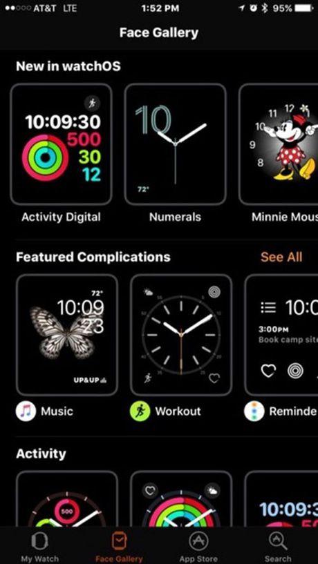 watchOS 3 thay doi dien mao cho Apple Watch - Anh 4