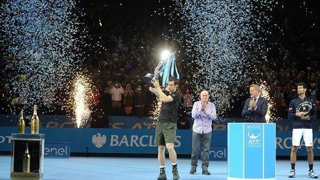 Danh bai Djokovic, Murray vo dich ATP Finals 2016 - Anh 1
