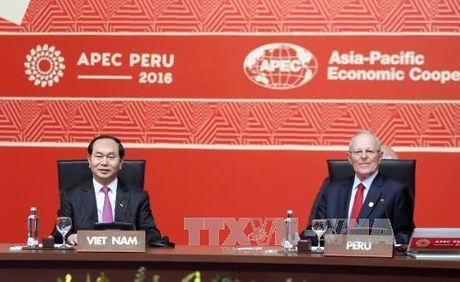 Bai phat bieu cua Chu tich nuoc tai Phien be mac APEC 2016 - Anh 1