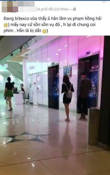 Bi bat gap di xem phim cung chong sau cai va, Lam A Han khang dinh van ly hon - Anh 1