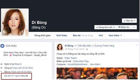 Facebook xoa sub ao, nhieu sao Viet, hot teen bat ngo mat qua nua luot theo doi - Anh 2
