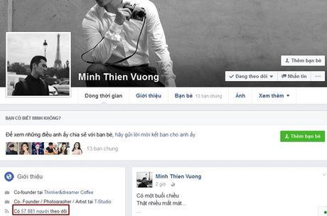 Facebook xoa sub ao, nhieu sao Viet, hot teen bat ngo mat qua nua luot theo doi - Anh 4