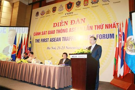 Khai mac Dien dan Canh sat giao thong ASEAN - Anh 1