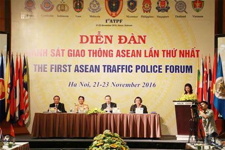 Khai mac Dien dan Canh sat giao thong ASEAN - Anh 2