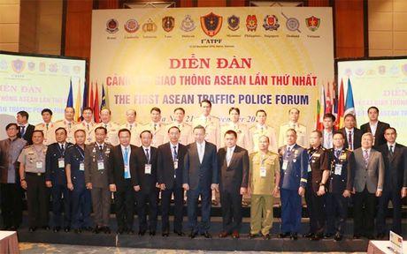 Khai mac Dien dan Canh sat giao thong ASEAN - Anh 5