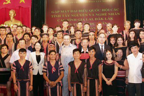 Bo Cong an gap mat than mat DBQH va nghe nhan cac tinh Tay Nguyen - Anh 1