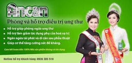 Cong ty CP Trieu Son bi phat vi quang cao san pham Ancan gay hieu lam - Anh 1