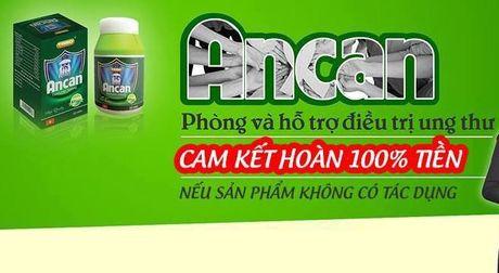 Cong ty CP Trieu Son bi phat vi quang cao san pham Ancan gay hieu lam - Anh 2