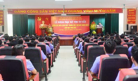 Khai mac ky thi tuyen Kiem sat vien nam 2016 khu vuc phia Bac - Anh 4