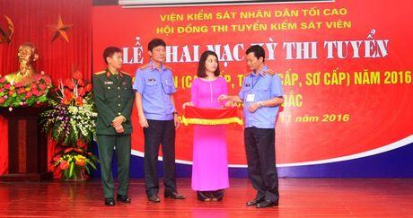 Khai mac ky thi tuyen Kiem sat vien nam 2016 khu vuc phia Bac - Anh 5