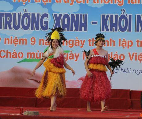 Dai hoc Dai Nam tung bung ngay hoi tri an nha giao - Anh 6