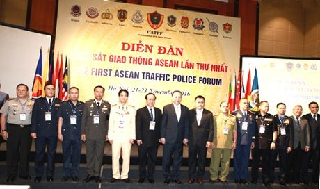 Khai mac dien dan Canh sat giao thong cac nuoc ASEAN - Anh 2