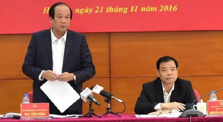 Bo truong Mai Tien Dung: 'Cac DN muon dau tu lon nhung khong co dat' - Anh 1