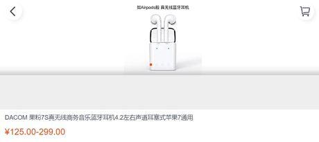 'Hang nhai' tai nghe khong day cua Apple ban tran lan tai Trung Quoc - Anh 1