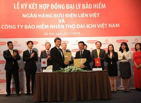 Dai-ichi Life Viet Nam va LienVietPostBank bat tay hop tac - Anh 1