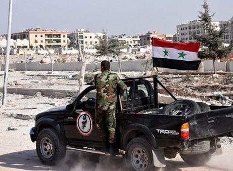 Khong quan Syria tieu diet hang chuc phien quan IS o ngoai o Aleppo - Anh 1