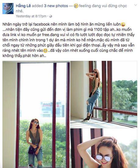 Minh Hang buc xuc len tieng khi bi loi dung ten tuoi de PR - Anh 1