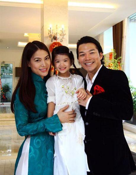 Be Bao Tien nha Truong Ngoc Anh - Tran Bao Son ra dang thieu nu o tuoi len 8 - Anh 1
