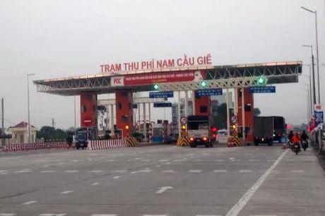 Chinh thuc thu phi du an BOT tuyen tranh Ha Nam tu ngay 24/11 - Anh 1
