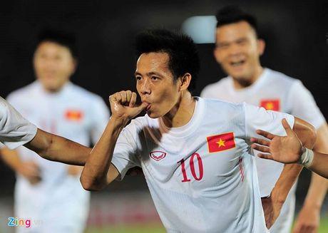 Ha Myanmar 2-1, tuyen Viet Nam mang chien thang tang thay Huu Thang dip 20/11 - Anh 3