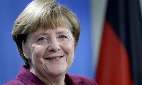 Thu tuong Duc Angela Merkel tranh cu nhiem ky 4 - Anh 1